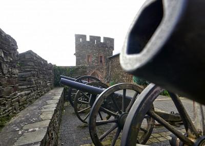 Kanonen vor dem Museum