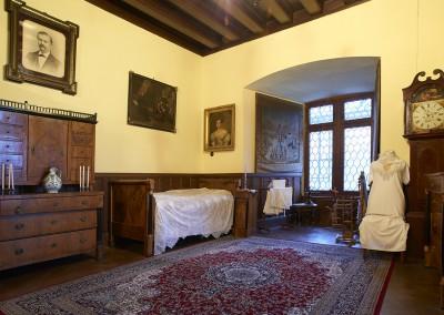 Schlafzimmer im Biedermeierstil