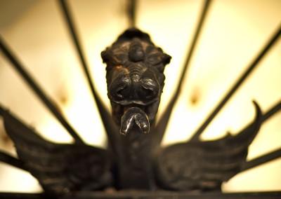 Detail im Museum