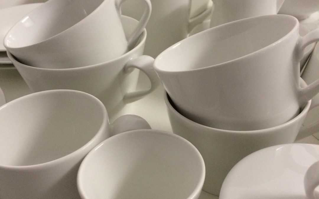 Bemusterung von Geschirr & Gläsern