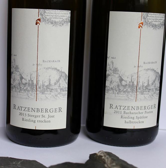 Mittelrhein Wein & Stein – Gestaltung der Weinkarte –