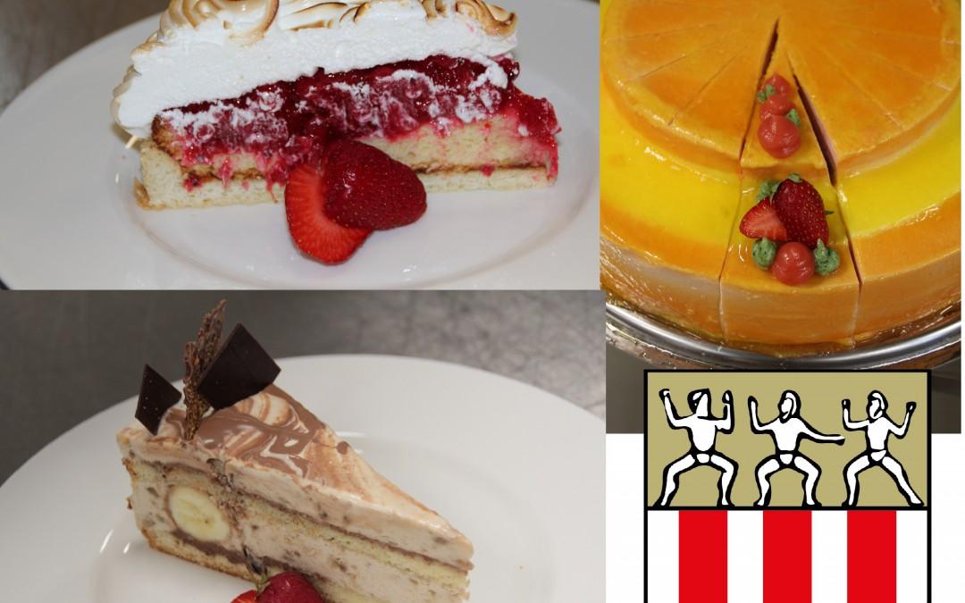 Kuchenauswahl für das lange Wochenende