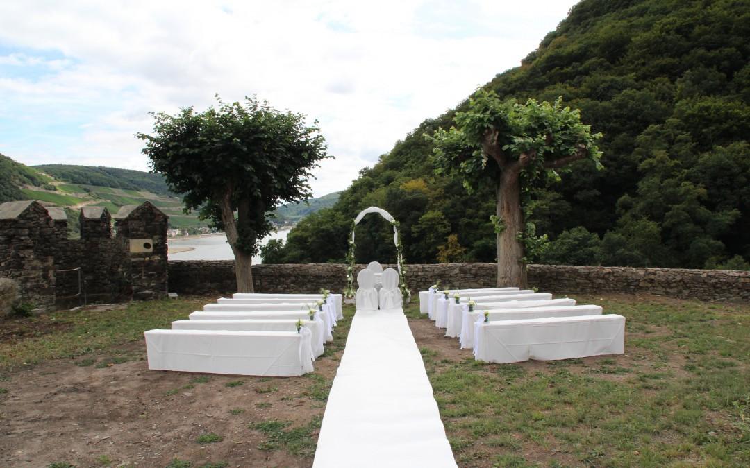 Impressionen unserer ersten Hochzeit im Burggarten -2-
