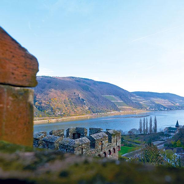 Beste Aussichten für Genießer –  Rheinromantik der Extraklasse