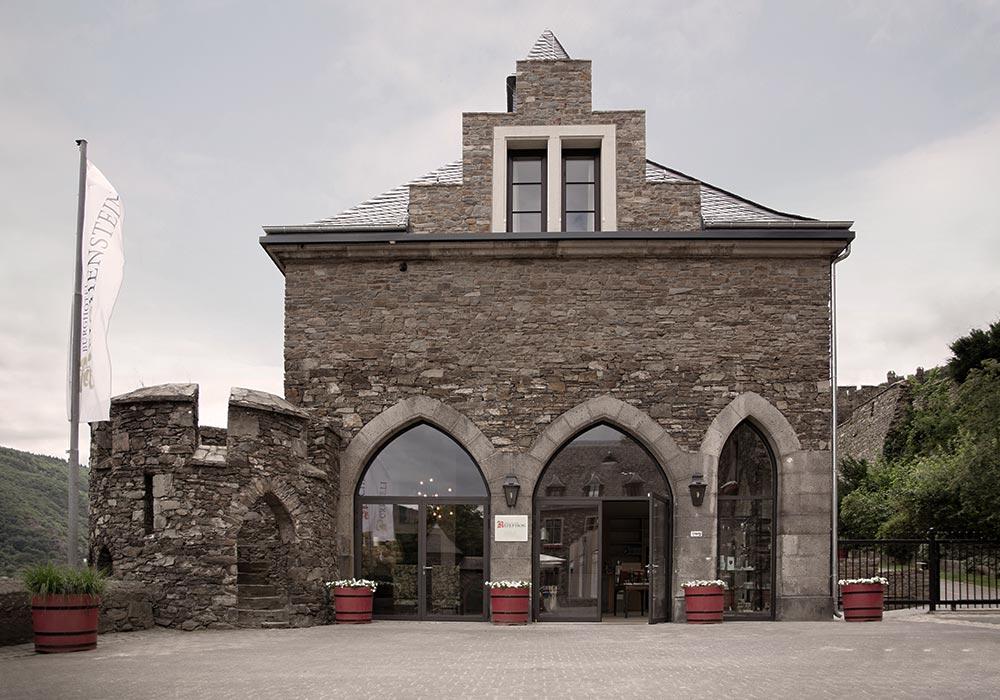 Burg Reichenstein - Übernachten