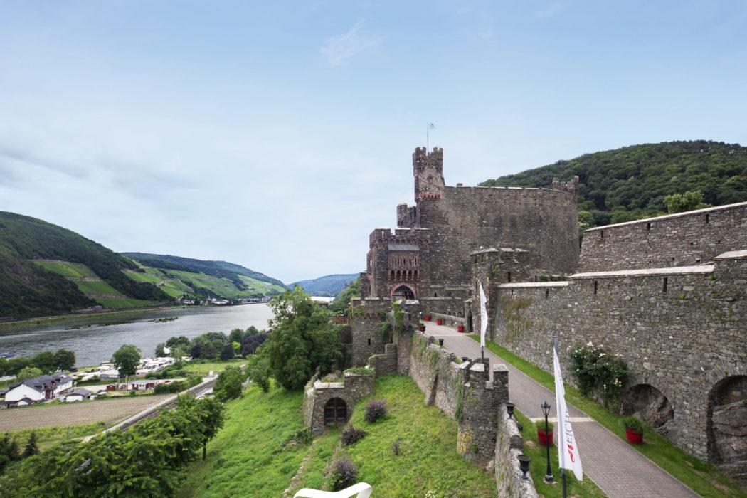 Burg Reichenstein - Ruhiges neues Jahr