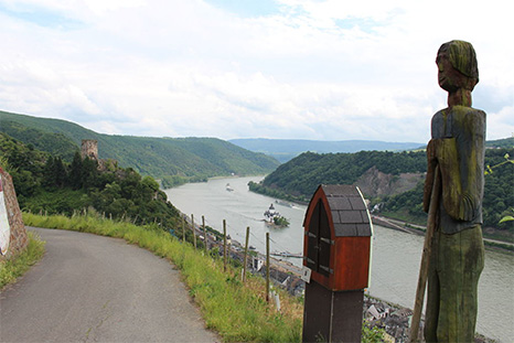 Rhine footpath: Kaub – St.Goarshausen
