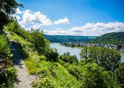 Rheinsteig: Kestert – Osterspai