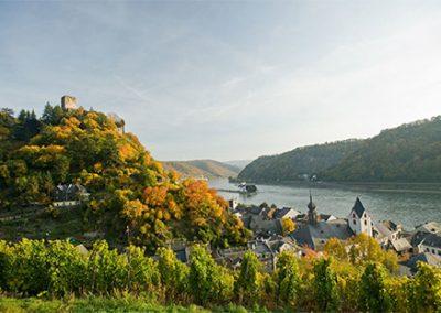 Rheinsteig: Lorch – Kaub