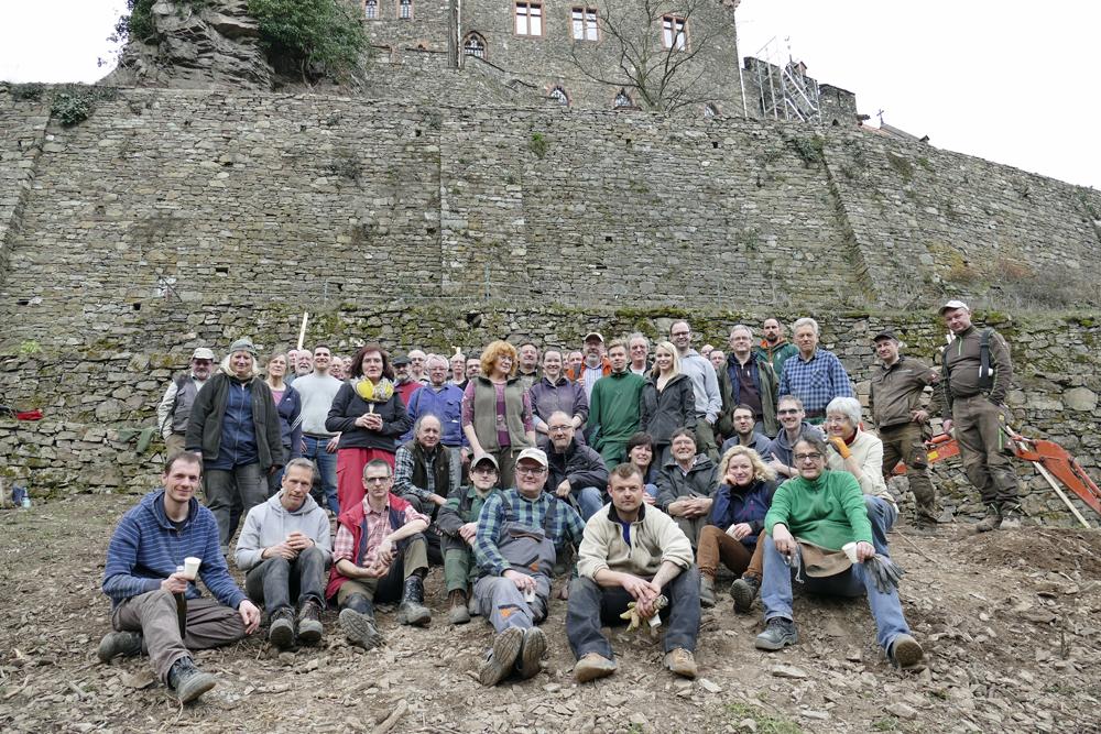 Trockenmauer Seminar im Morgenbachtal