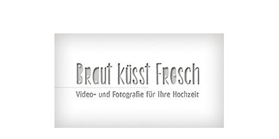 Braut küsst Frosch